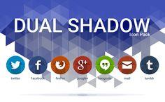 Dual Shadow - Icon Pack v1.3.3 APK