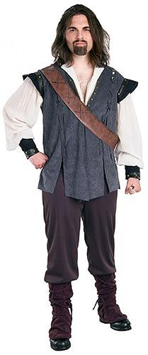 Renaissance Man Costume.
