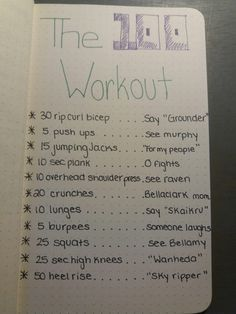 The 100 TV Show Workout