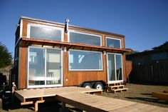 Living in a shoebox   New rustic dwelling from Rocky Mountain Tiny Houses