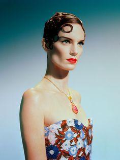 Iris Strubegger by Miles Aldridge for Vogue Italia, March 2015