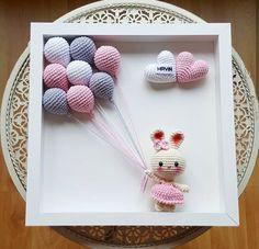 Giraffe Crochet, Crochet Bunny, Cute Crochet, Crochet Toys, Crochet Doll Tutorial, Kawaii Crochet, Crochet Baby Boots, Crochet Dolls Free Patterns, Baby Mobile