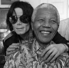 "itsjustdesire: "" MJ: ""He [Nelson Mandela] is sweet, very childlike. MJ: ""He [Nelson Mandela] loves children because when I went to see him I had some kids with me and. The Jackson Five, Jackson Family, Janet Jackson, Nelson Mandela, Familia Jackson, Photo Star, King Of Music, The Jacksons, Takayama"