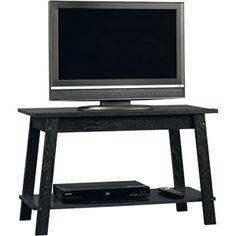 """Walmart! $25 I'll be getting this next month!    Sauder Beginnings Ebony Ash TV Stand, for TVs up to 37"""""""