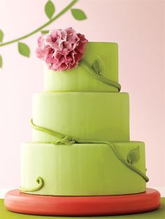 #Cake by Sweet Melissa Patisserie  http://www.instyle.com/instyle/package/general/photos/0,,20351917_20349466_20752641,00.html Cake Wedding, 2017 Wedding, Spring Wedding, Gorgeous Cakes, Beautiful Wedding Cakes, Wedding Cakes With Flowers, Amazing Cakes, Perfect Wedding, Fondant Cakes