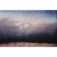 Caspar David Friedrich (Monk by the sea) Art Poster