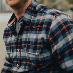 Hiking Outfit Discover Conrad Plaid Button Up Shirt Mens Outdoor Fashion, Mens Fashion, Fashion Outfits, Casual Shirts For Men, Men Casual, Picnic Outfits, Check Shirt Man, Mens Flannel Shirt, Mens Clothing Styles