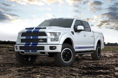 Everybody is waiting for the 2017 Ford Raptor dune warrior to arrive at dealerships, but that won't happen until fall What can you have instead of waiting for the off-road truck to start production? Look no further than the 2016 Shelby Shelby F150, Shelby Raptor, Dodge Viper, Ford Raptor, Cool Trucks, Big Trucks, Lifted Trucks, Pickup Trucks, Truck Memes