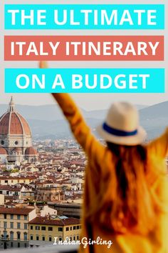 Traveling to italy or planning to? I got ya! In this awesome post I cover a 10 days or 2 weeks in Italy itinerary that t. Italy Travel Tips, Budget Travel, Travel Hacks, Travel Advice, Cheap Travel, Travel Essentials, Best Cities In Europe, Best Places To Travel, 2 Weeks In Italy
