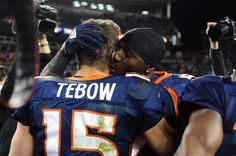 new concept cb55a 0fe27 Tim Tebow in New York Jets v Denver Broncos