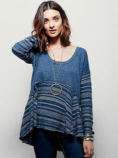 Free People Caravan Pullover at Free People Clothing Boutique