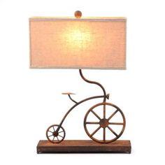 fun vintage bicycle lamp @Deb Paessler