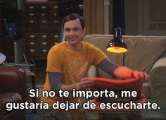 Porque la verdad es que la gente no te preocupa tanto. | 21 Veces en las que Sheldon Cooper lo dijo mejor que tú