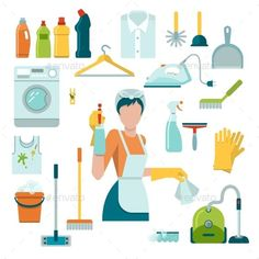 Download Free Graphicriver Cleaning Icons Set #bin #bottle #broom #brush #bucket #clean #cleaner #cleaning #dust #duster #equipment #garbage #glove #house #household #housework #illustration #laundry #maid #mop #recycling #shine #sponge #spray #squeegee #trash #vacuum #vector #wash #washing