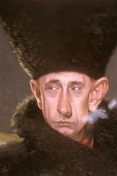 """C.F. Payne """"You must obey the law, always, not only when they grab you by your special place."""" -Vladimir Putin"""