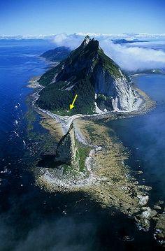 Cape St. Elias, West tip of Kayak Island, Alaska