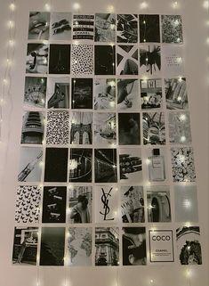black and white photo collage kit