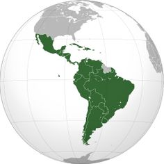 Latin America (Spanish: América Latina or Latinoamérica; Portuguese: América Latina; French: Amérique latine, Dutch: Latijns-Amerika) is a region of the Americas where Romance languages (i.e., those derived from Latin) – particularly Spanish and Portuguese, and variably French – are primarily spoken.