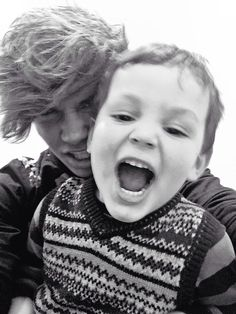 Aww him and his little bro ! How cute ! ❤️