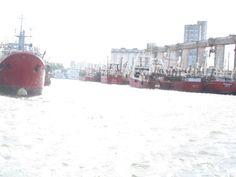 Puerto, ciudad de Mar del Plata