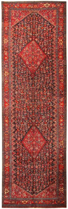 View this beautiful Antique Karabagh Rug 43790 from Nazmiyal's fine antique rugs and decorative carpet collection.