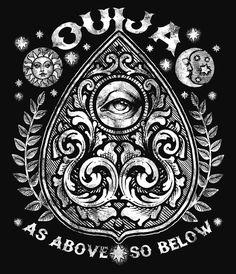 #ouija #symbol #tattoo