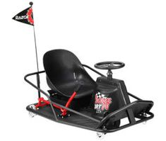 Razor Crazy Cart - Drift and drive, go kart style electric ride on