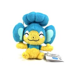 This is a Panpour Pokemon Plush Figure. The Panpour Plush figure stands roughly 3 inches tall and is a Japanese import. Panpour is firmly stuffed and a well made quality. Super cute and a great collec