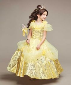 New 2017 Belle Princess Gown Costume in Yellow | Pinterest | Belle Gowns and Princess  sc 1 st  Pinterest : belle gown costume  - Germanpascual.Com