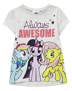 My Little Pony Always Awesome Slogan T-Shirt