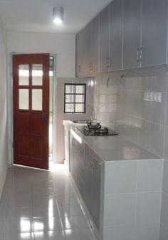 kabinet dapur rumah flat google search kitchen ideas