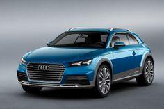 Audi Crossover Concept front | www.truefleet.co.uk