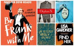 It's been a great month for new release fiction so check out our February 2016 favourite reads.