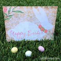Antique Bunny Easter Card - Free Printable JPEG and Free Silhouette Cameo Cutting File. Free Silhouette, Silhouette Cameo, Easter Card, Easter Bunny, Paper Cutting, Free Printables, Card Making, Kids Rugs, Graphics