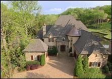 Exquisite French Country private estate (1.20 ac) on #7 & #5 of Gettysvue Country Club. Eight fireplaces,  media room,  gym, library & office. Elevator shaft roughed-in. Outdoor entertaining a must with pool house,  pool,  bathroom and covered terraces each with their own fireplace.  Open kitchen to keeping room and breakfast room. Gas lanterns,  copper copula,  roof vents & chimney pots. Extensive lutron lighting system with state of the art security.  So private yet so close to everything!