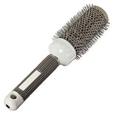 TOOGOO(R) Hair Brush Ceramic Iron Round Comb Barber Dressing Salon Styling£¨45mm) >>> More info could be found at the image url.