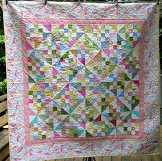 Pinwheels and Patches by Pantsfreesia, via Flickr