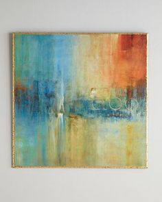 Blue+Cascade+Abstract+Giclee+by+John-Richard+Collection+at+Neiman+Marcus.
