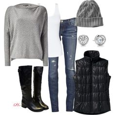 Cute cold weather outfit