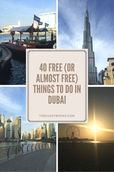 Think of Dubai and think expensive? Whilst it would be wrong to argue Dubai is cheap, there's still so much you can do for free (or almost free!). See our guide of the 40 favourite things you can do in Dubai on a budget!