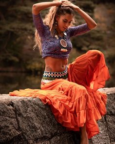 hippie outfits 785174516269596522 - Gypsy maxi skirt, Indian skirt, boho style outfit Source by mookyboutique Boho Gypsy, Bohemian Skirt, Boho Skirts, Boho Dress, Bohemian Style, Gypsy Skirt, Hippie Skirts, Bohemian Outfit, Wrap Skirts