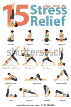 Yin Yoga Poses, Restorative Yoga Poses, Easy Yoga Poses, Yoga Poses For Beginners, Yoga Poses For Balance, Yoga Poses Chart, Stress Yoga, Yoga For Stress Relief, Figure Yoga