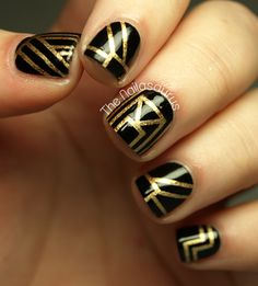 The Nailasaurus:  #nail #nails #nailart