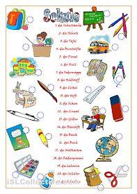 German Language Learning, Learning Spanish, Teaching English, Kids Learning, Study German, Learn German, German Grammar, German Words, Deutsch Language