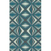 Found it at AllModern - Voyages Charcoal Gray/Teal  Rug
