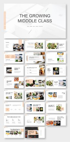 Drink Creative Business Presentation Template Does your website convert visitors into clients? Template Web, Powerpoint Design Templates, Creative Powerpoint, Food Template, Design Presentation, Business Presentation Templates, Food Magazine Layout, Case Study Design, Company Profile Design