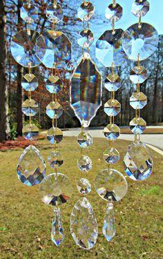 Claro cristal Sun Catcher vidrio Sol Catcher Suncatcher