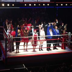 #RockyBroadway was a Knockout. The set staging was amazing @RockyBroadway