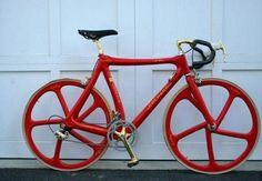 Ferrari Colnago C35 Red Carbon Fiber #Bike
