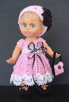Galoob Baby Face Doll Pretty in Pink